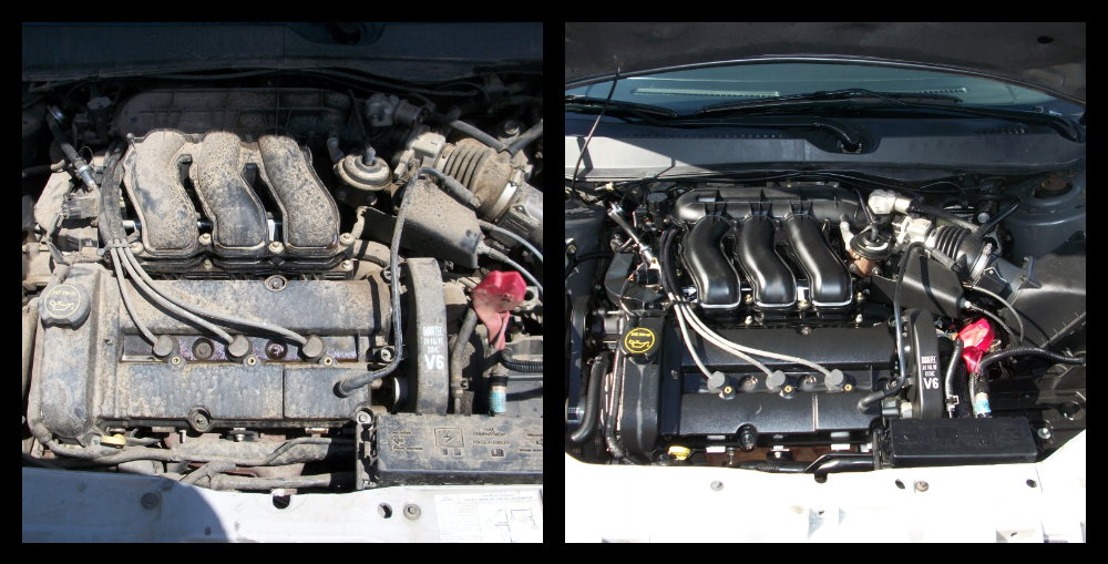 Car Engine Steam Cleaning Services